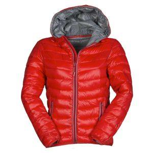 piumino-cappuccio-donna-rosso-payper-replica-lady-allsport-genova