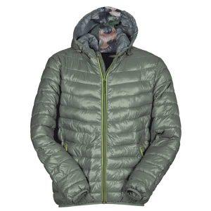 piumino-cappuccio-uomo-verde-payper-replica-allsport-genova